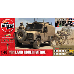 Gift Set military British Forces - Land Rover Patrol 1:48