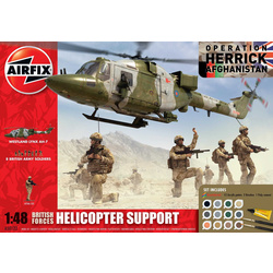 Airfix military British Forces - Helicopter Support (1:48)