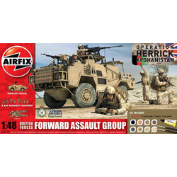 Airfix military British Forces - Forward Assault Group (1:48)