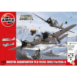 Gift Set letadlo Dogfight Double Beaufighter / FW190A-8 1:72 nová forma
