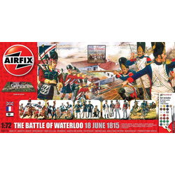 Gift Set diorama Battle Of Waterloo 1815 - 2015 1:72
