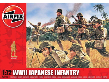Airfix figurky WWII Japanese Infantry (1:72) / AF-A01718