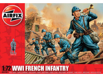 Airfix figurky WWI French Infantry (1:72) / AF-A01728