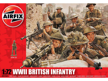 Airfix figurky WWII British Infantry Northern Europe (1:72) / AF-A01763