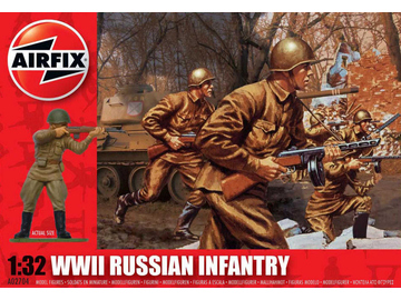 Airfix figurky WWII Russian Infantry (1:32) / AF-A02704