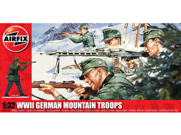 Airfix figurky WWII German Mountain Troops (1:32) / AF-A04713