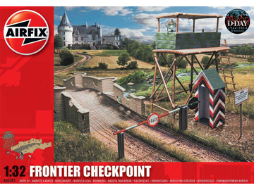Airfix diorama Frontier Checkpoint (1:32) / AF-A06383