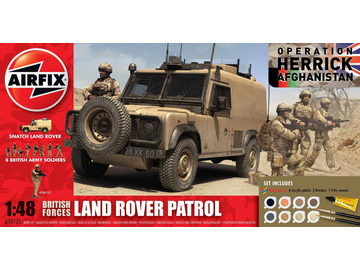 Airfix military British Forces - Land Rover Patrol (1:48) / AF-A50121
