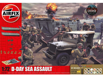 Airfix diorama D-Day Sea Assault (1:72) / AF-A50156