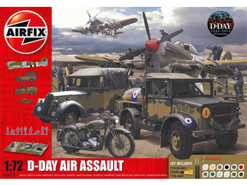 Airfix diorama D-Day Air Assault (1:72) / AF-A50157