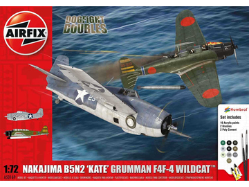 Airfix Dogfight Double B5N Kate / Wildcat F4F-4 (1:72) / AF-A50169