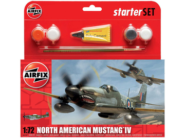 Airfix North American P-51D Mustang (1:72) (set) / AF-A55107