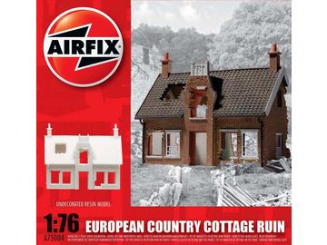 Airfix European Country Cottage Ruin (1:76) / AF-A75004