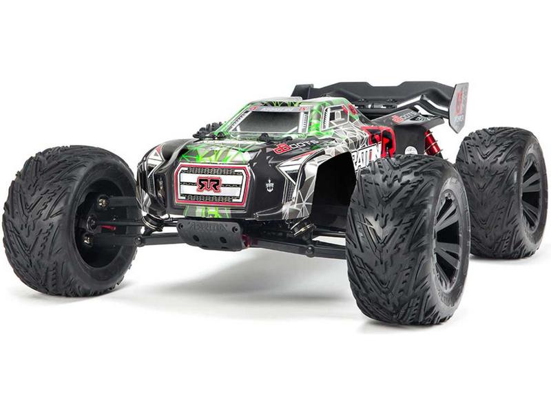 Arrma Kraton 6S BLX 1:8 4WD RTR zelená