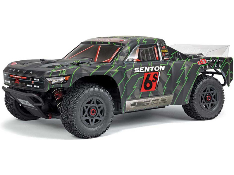 Arrma Senton 6S BLX 1:10 4WD RTR černá