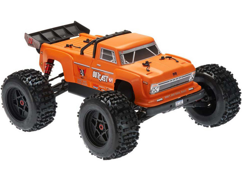 Arrma Outcast 6S BLX 1:8 4WD oranžová