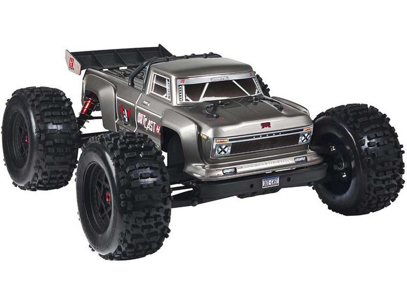 Arrma Outcast 6S BLX 1:8 4WD stříbrná
