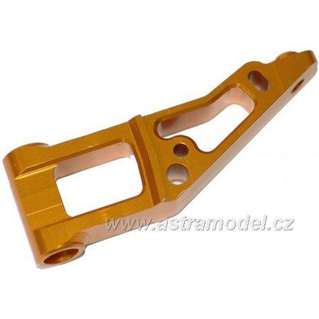 M5 Tuning - držák předního závěsu hliníkový zlatý