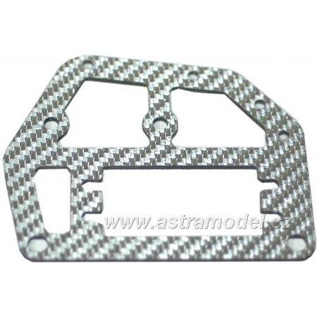 M5 Tuning - horní deska šasi stříbrná