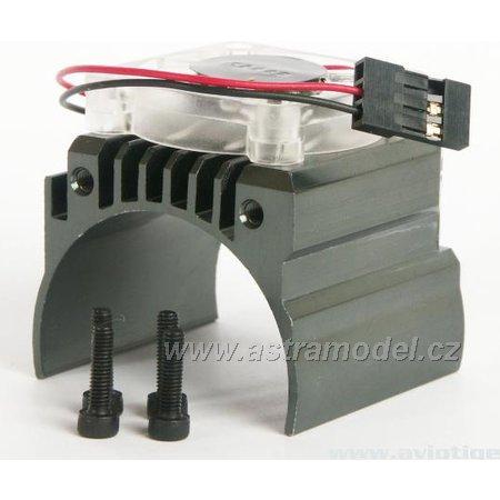 M5 Tuning - chladič motoru s ventilátorem