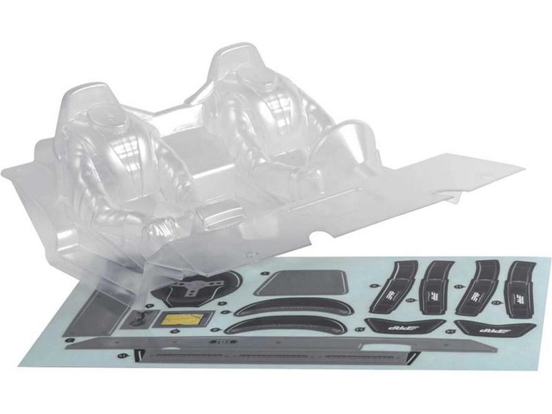 Axial AX31328 Kokpit čirý: RR10, AXIC3328, AX3328