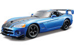 Bburago Kit Dodge Viper SRT 10 ACR 1:24 modrá