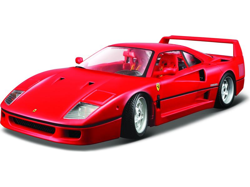 Bburago Original Ferrari F40 1:18 červená