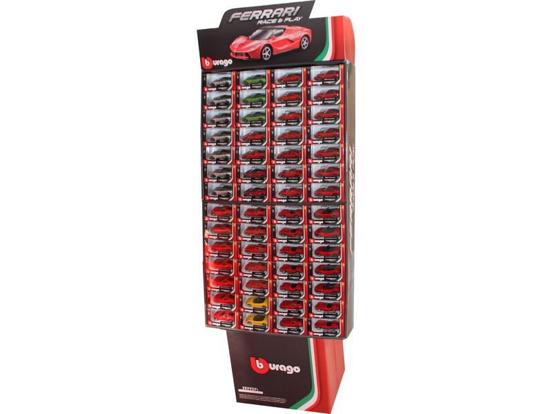 Bburago sada modelů aut Ferrari 1:43 112ks