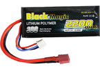 LiPol Car Black Magic 7.4V 2200mAh 30C Deans