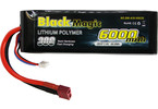 LiPol Car Black Magic 7.4V 6000mAh 30C Deans