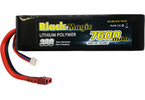 LiPol Car Black Magic 7.4V 7600mAh 30C Deans