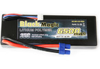 LiPol Car Black Magic 7.4V 6500mAh 35C EC3