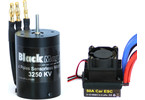 Střídavý motor Black Magic 540 4P 3250kv, reg. 50A