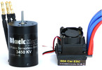 Střídavý motor Black Magic 540 4P 3450kv, reg. 60A
