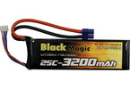 LiPol Black Magic 11.1V 3200mAh 25C EC3