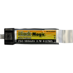LiPol Black Magic 3.7V 180mAh 25C EFL