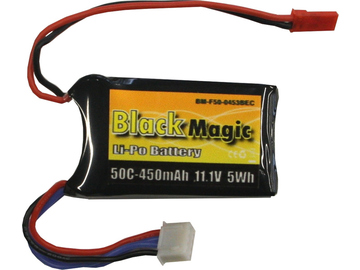 LiPol Black Magic 11.1V 450mAh 50C JST / BMF50-0450-3JST