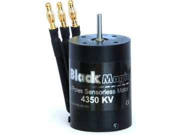 Střídavý motor Black Magic 540 4P 4350kv / BMM4P-4350