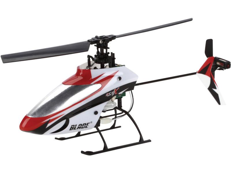 Mikrovrtuľník Blade mSR X Micro Elektro Bind & Fly Basic