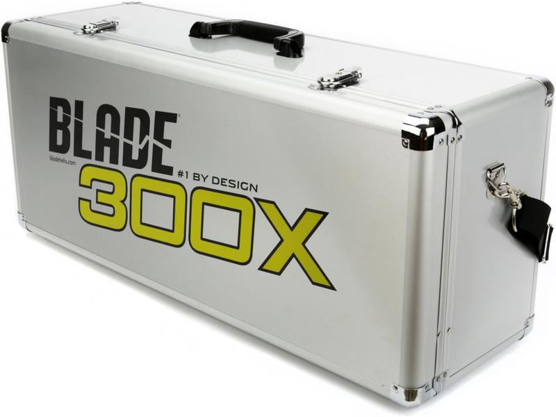 Blade 300 X: Hliníkový kufor