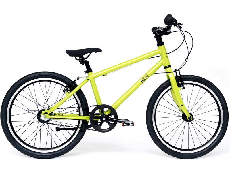 """Bungi Bungi - Dětské kolo 20"""" 3-rychlostní ultra lehké jablková zelená"""