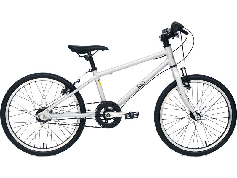 """Bungi Bungi - Dětské kolo 20"""" 3-rychlostní ultra lehké stříbrné"""