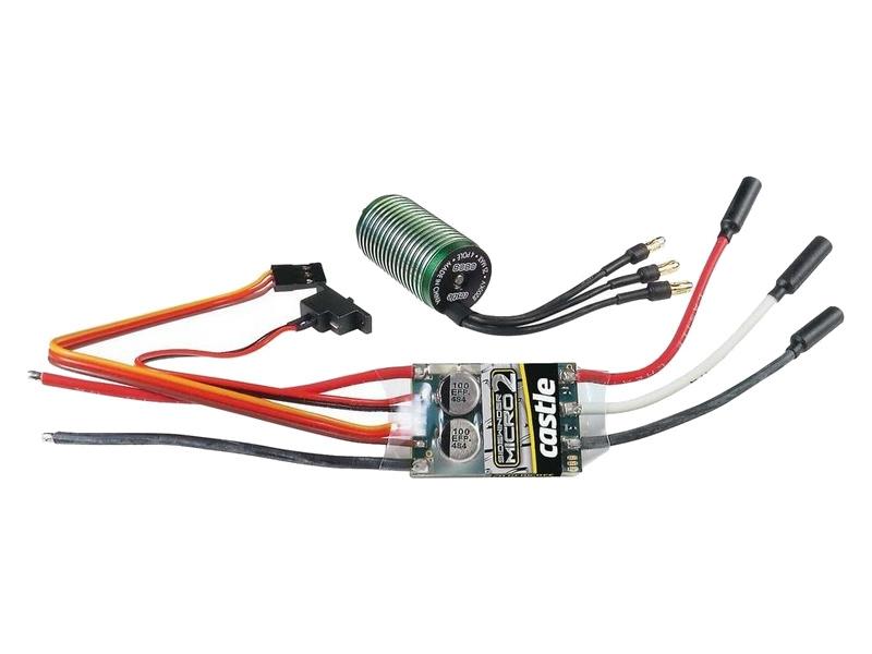 Castle motor 0808 5300kv s reg. Sidewinder Micro 2 CC-010-0150-02