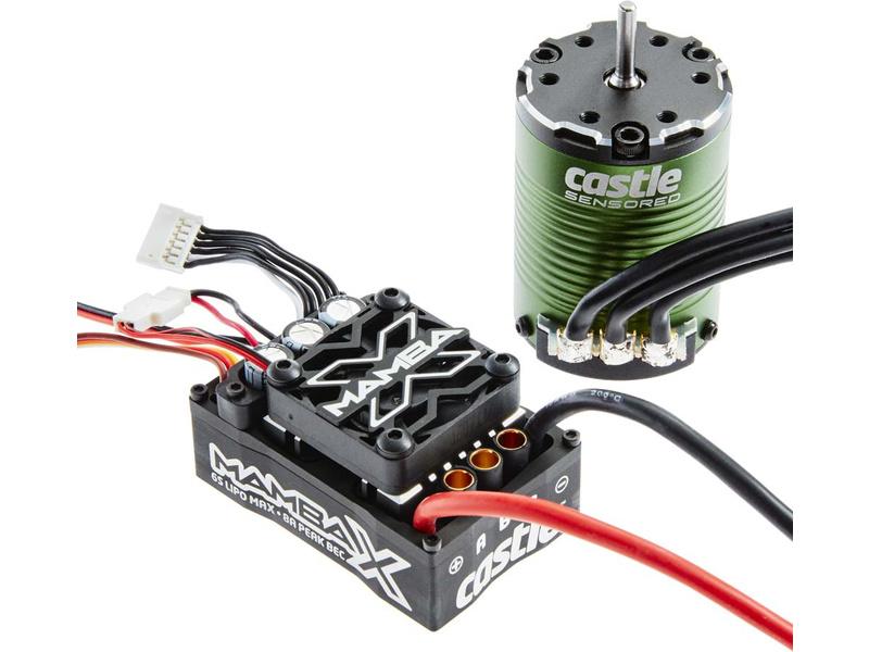 Castle motor 1406 6900ot/V senzored, reg. Mamba X