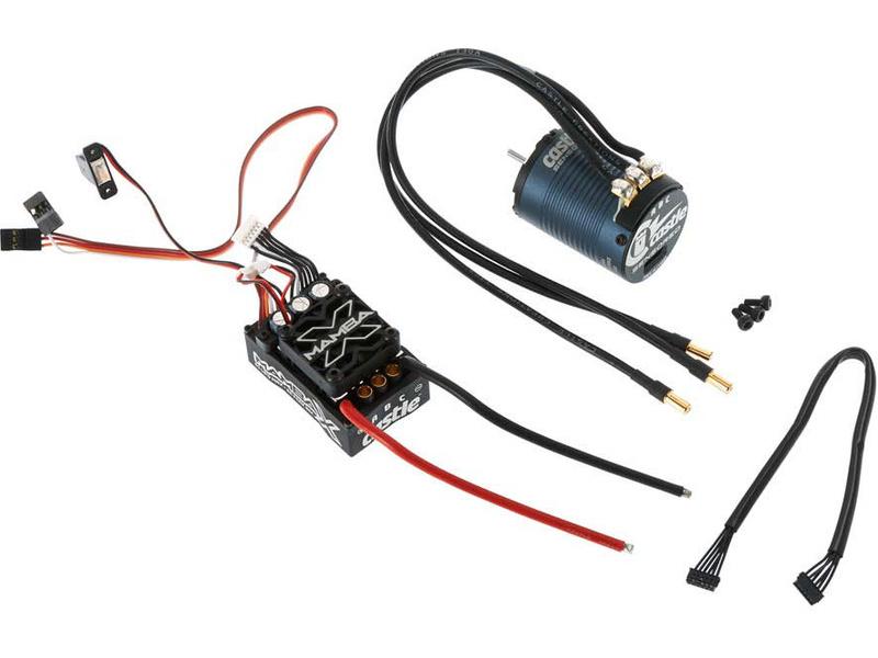 Castle motor 1406 2850ot/V senzored, reg. Mamba X