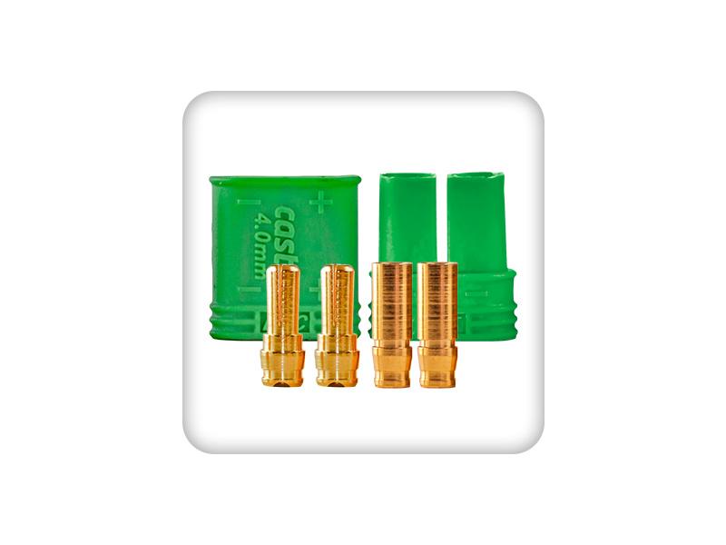 Castle konektor 4mm (pár) CC-011-0065-00