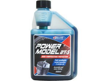 Power Model 2T-S olej do benzinových motorů 500ml / DM-LU01