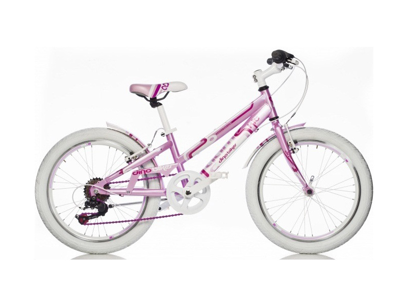 """DINO Bikes - Dětské kolo 20"""" Aurelia Game Kit růžové"""