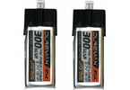 DUREMAX Power LiPol 3.7V 300mAh 35C mCP-X (2)