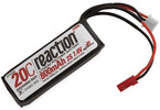 LiPol Reaction Air 7.4V 800mAh 20C JST 20AWG
